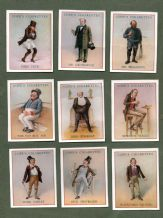 Collectable Tobacco Cigarette cards set  DICKENS CHARACTERS,